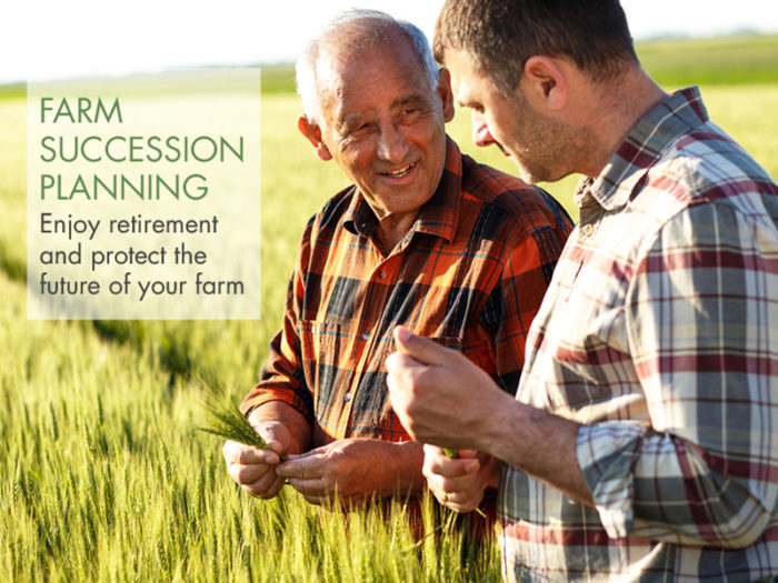 Farm succession planning: Peace of mind & future business success