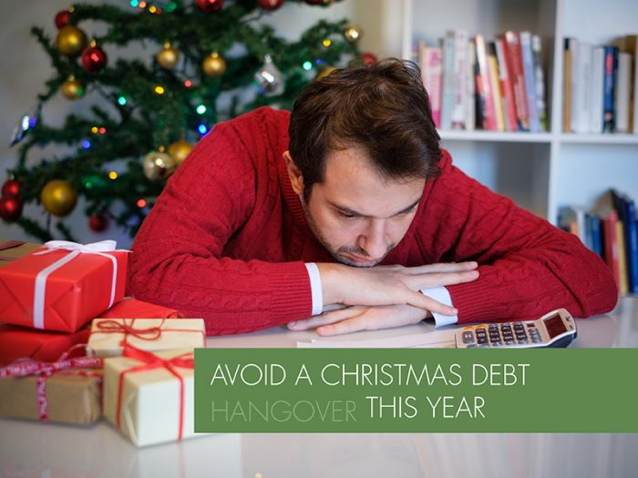 Avoid Christmas debt hangover this year with these 3 tips…