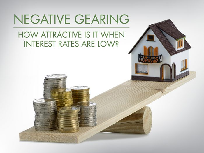 Investors: How does negative gearing work – and can it work for you in a low interest rate environment?